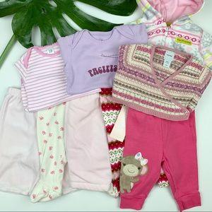 Lot Bundle Gap Gymboree Clothes Baby Girl 0 - 3 M